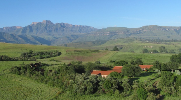 Restaurant and organic food in Cathkin Valley - Drakensberg